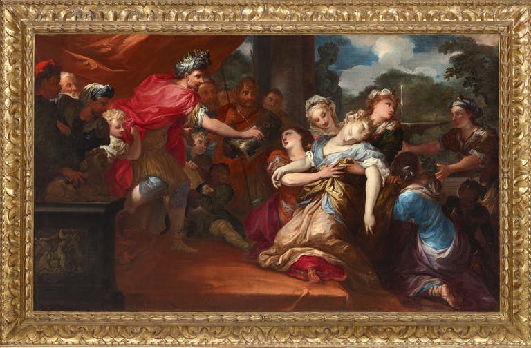 PIETRO DANDINI (1646-1712) Esther before Ahasuerus, oil on canvas, The Haukohl Family Collection