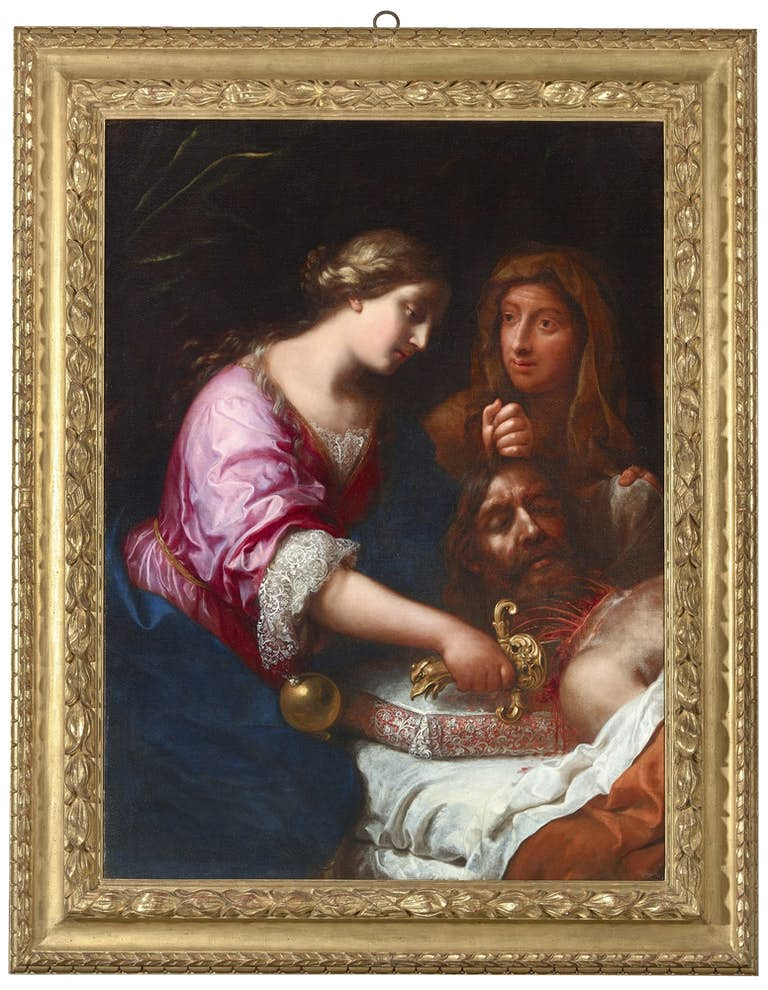 ONORIO MARINARI (1617-1716) Judith beheading Holofernes, oil on canvas, The Haukohl Family Collection