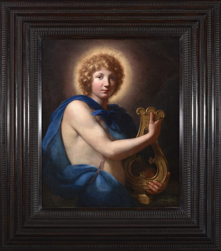 ONORIO MARINARI (1617-1716)Apollo with a lyre, oil on canvas, The Haukohl Family Collection