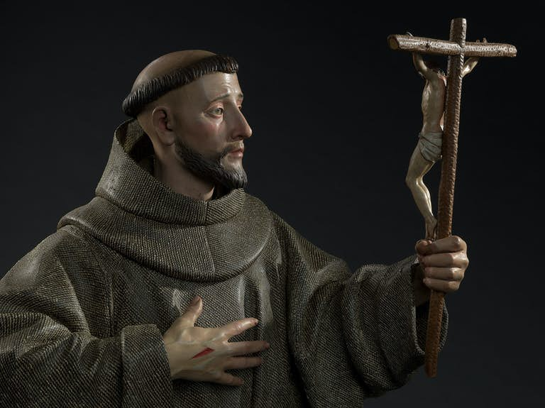 Pedro de Mena y Medrano (1628-1688)Saint Francis of Assisi17th centuryPrivate Collection© Photos: Dominique Provost Art Photography, Bruges