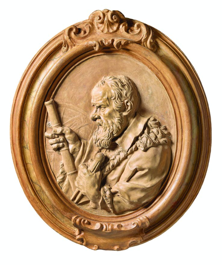 Antonio Montauti (1683-1746), Portrait of Galileo Galilei (1564-1642), Florentine scientist